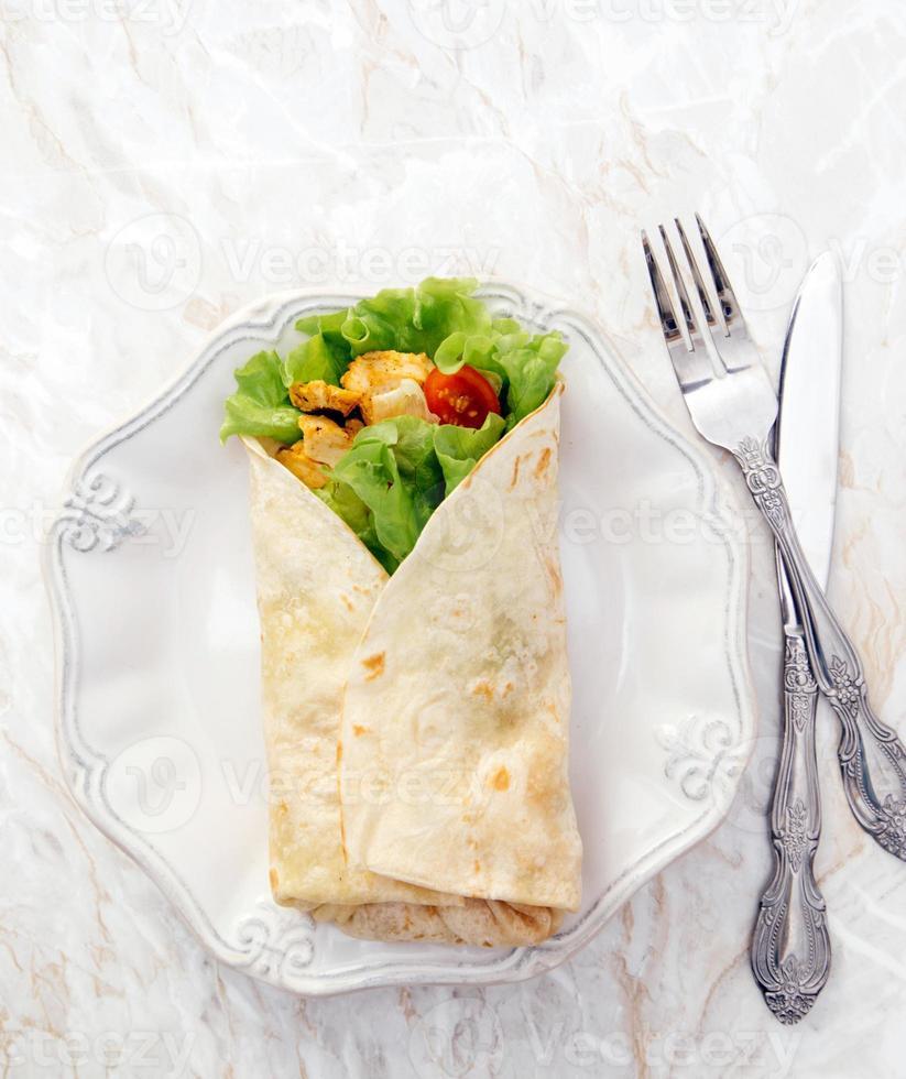 délicieuse tortilla photo
