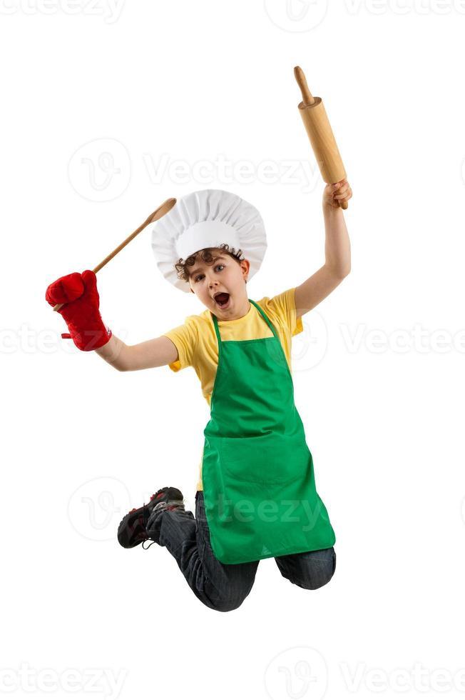 jeune chef photo