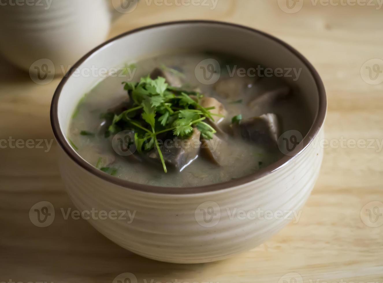 soupe de taro photo