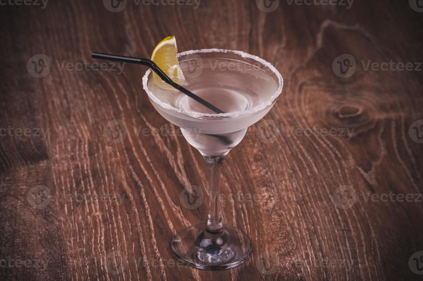 cocktail margarita en verre haut photo