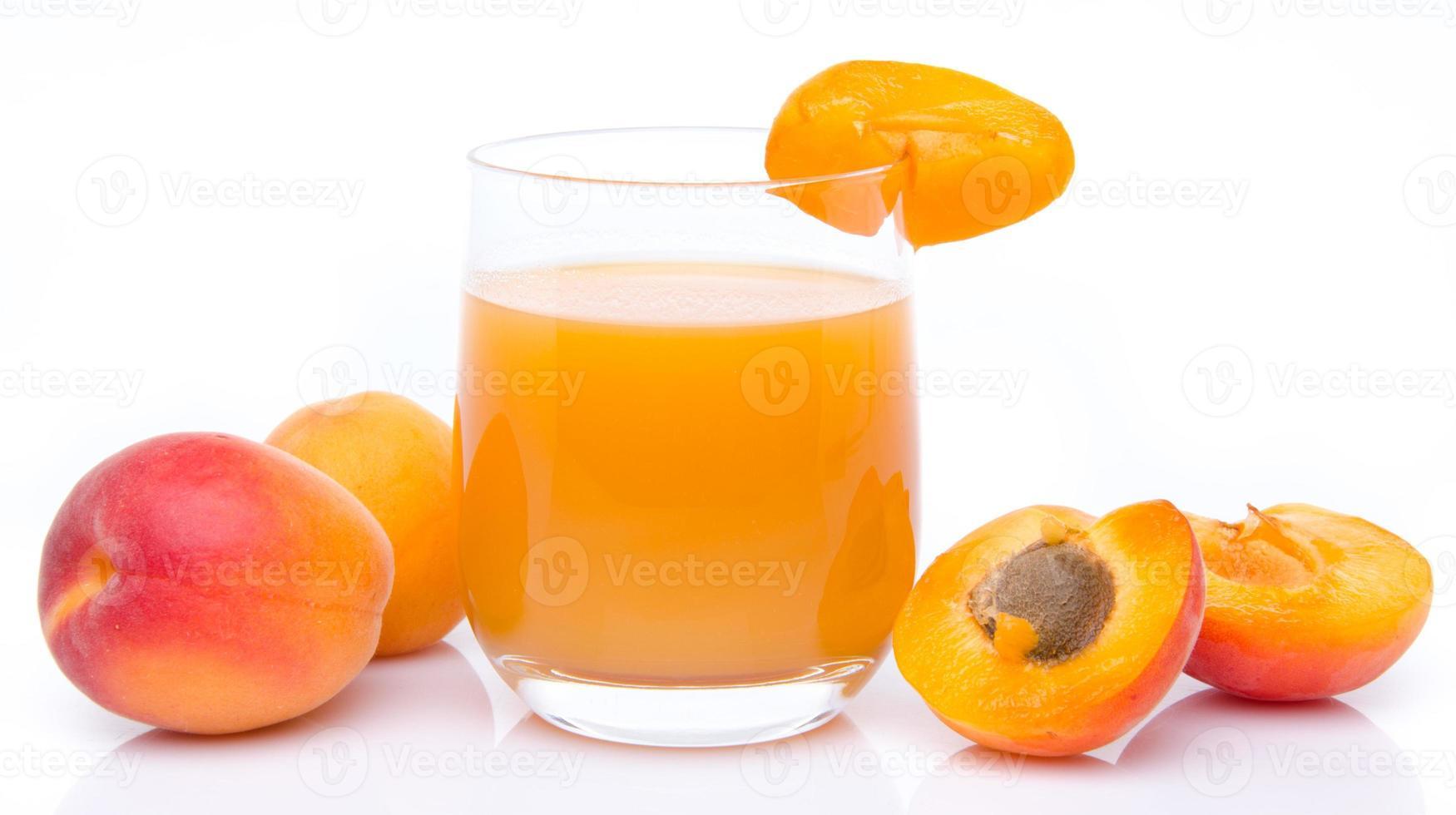 jus d'abricot photo