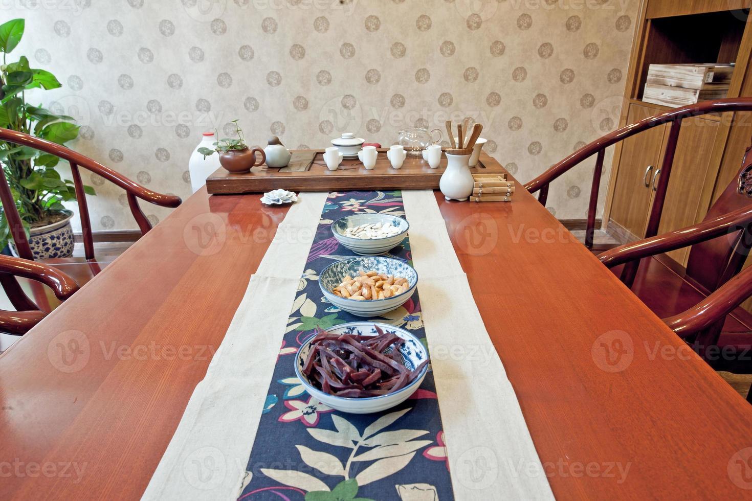 la cérémonie du thé chinois photo