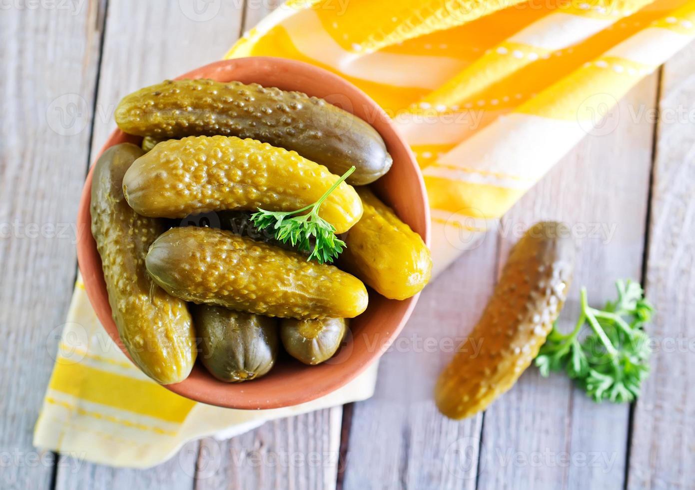 concombre au vinaigre photo