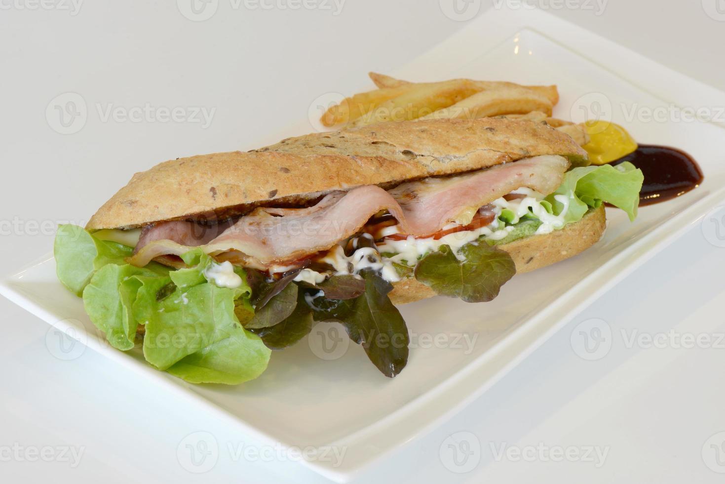 sandwich baguette photo