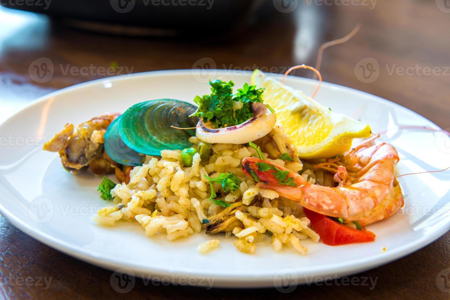 paella espagnole photo