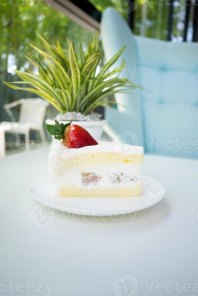 tarte sablée à la fraise photo