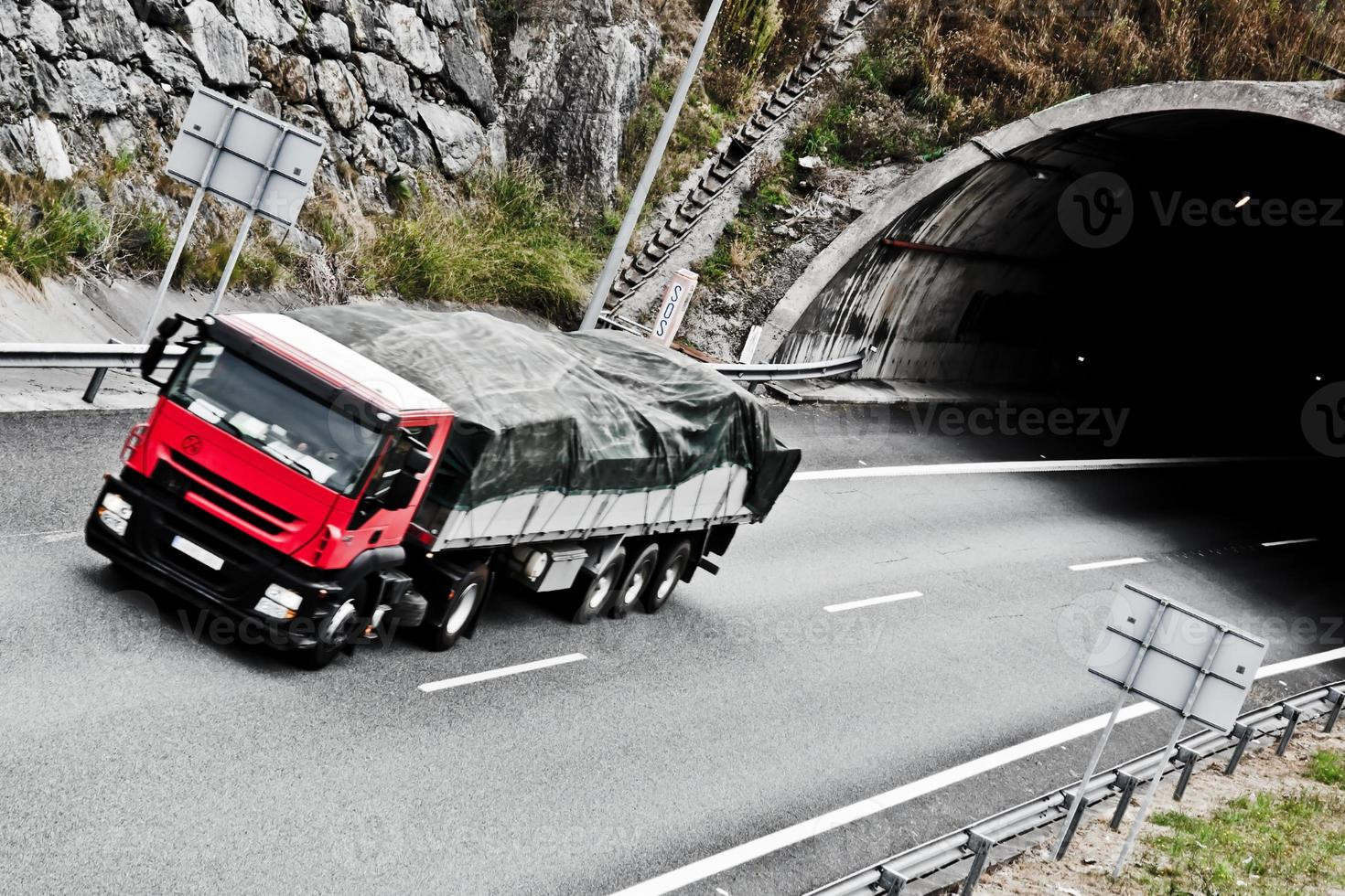 tunnel routier photo