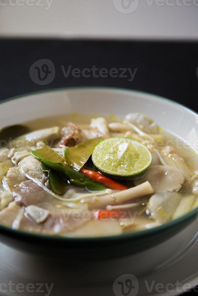 tom yum thai food photo
