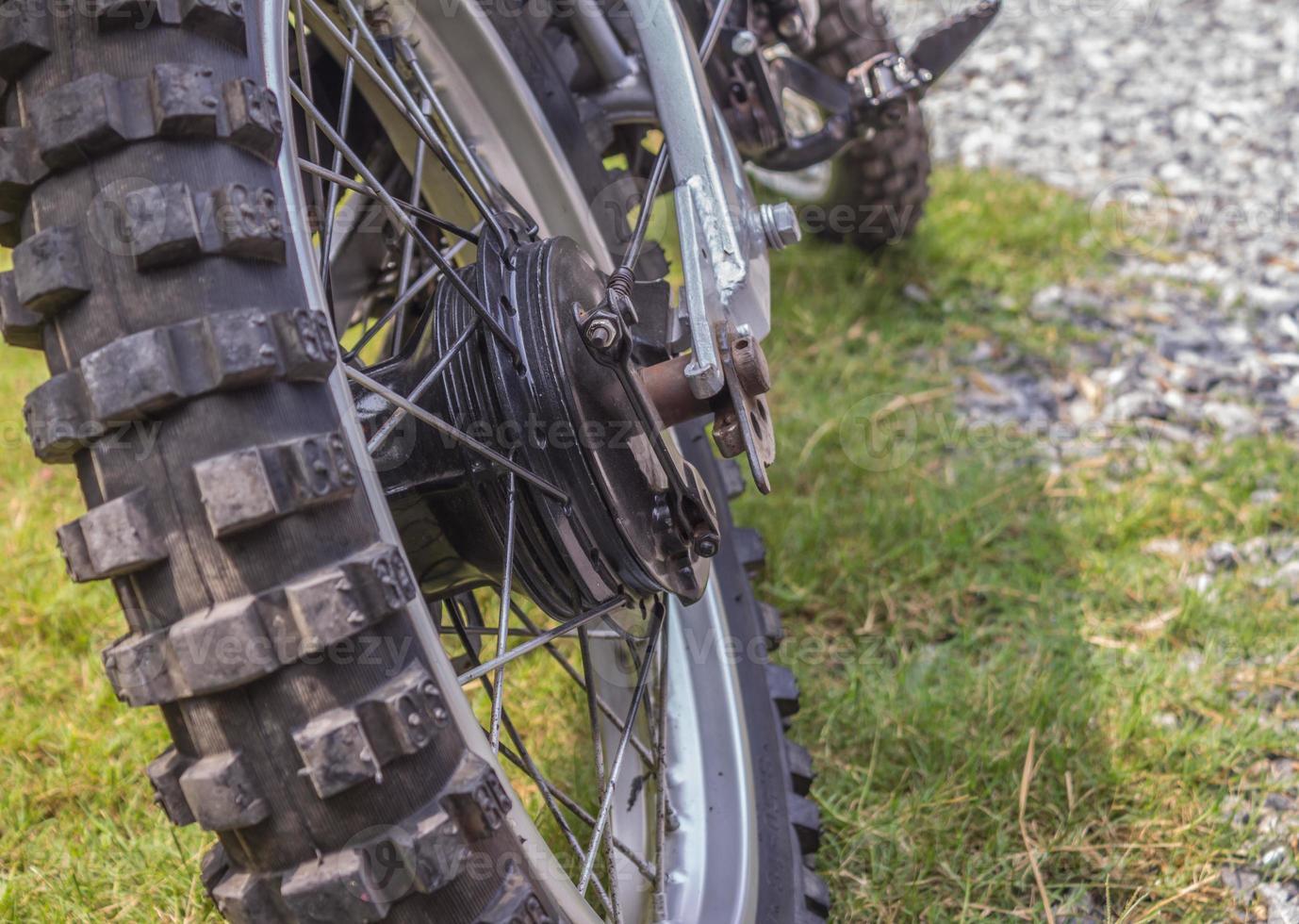 roues motocross photo