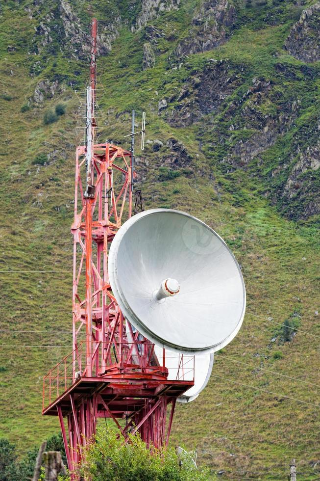 télécommunication en montagne photo