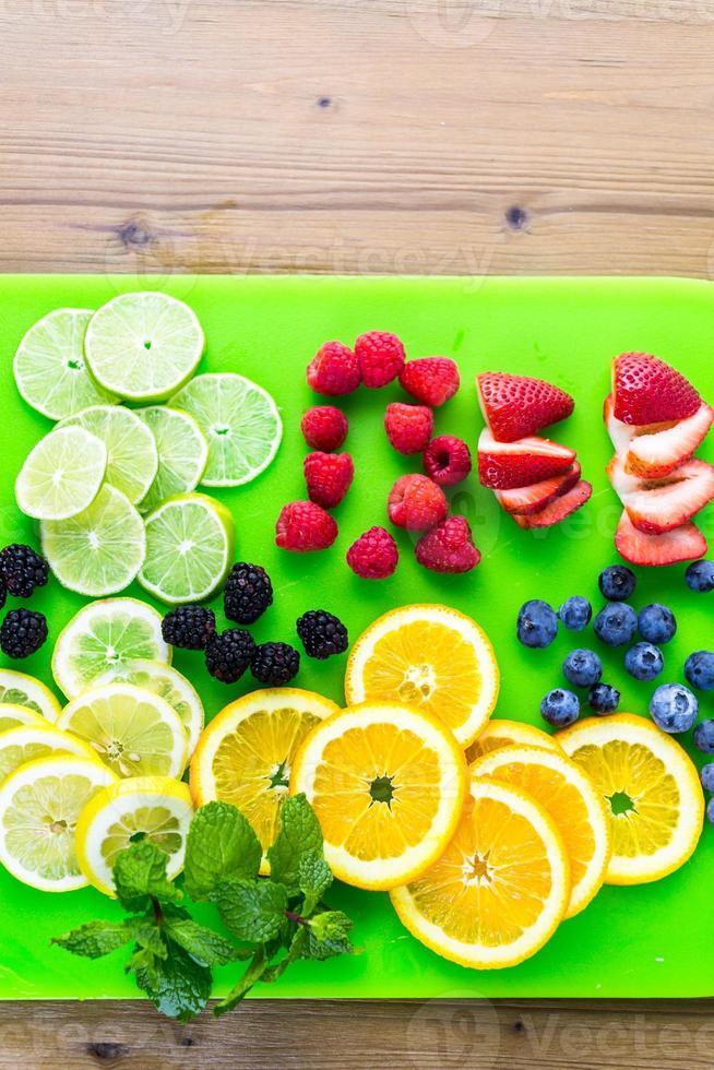 Fruits frais photo