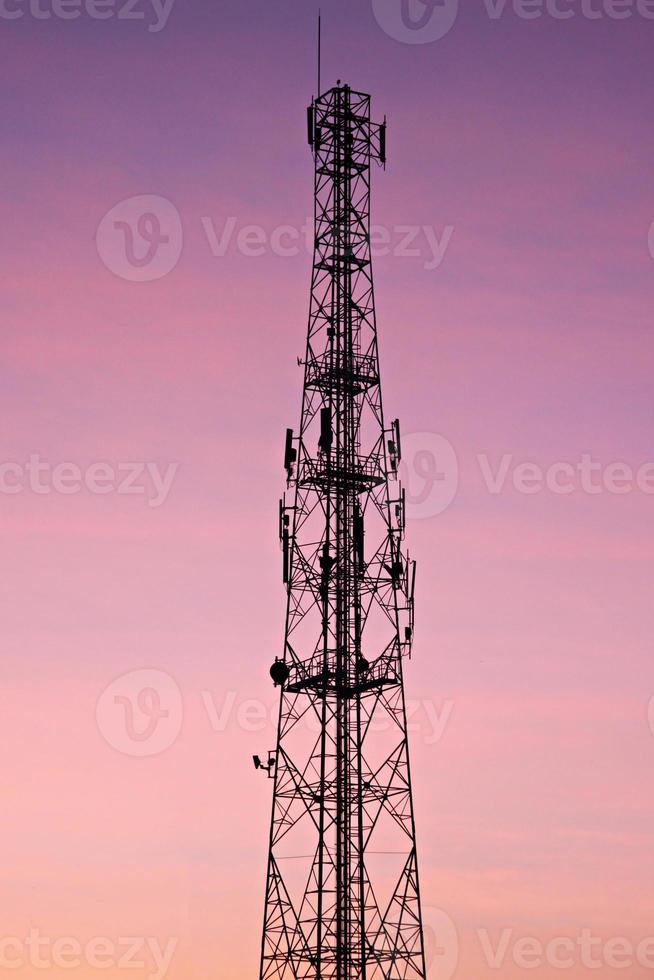 soirée antenne. photo