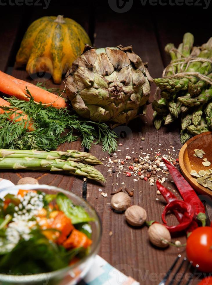 salade mûre photo