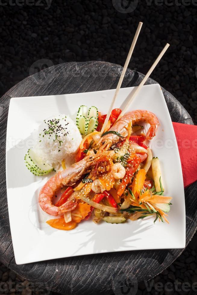 crevettes royales thaïlandaises photo