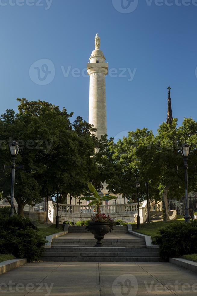 George Washington Monument à Baltimore Maryland photo