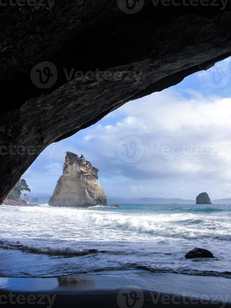 coromandel rock 2 photo