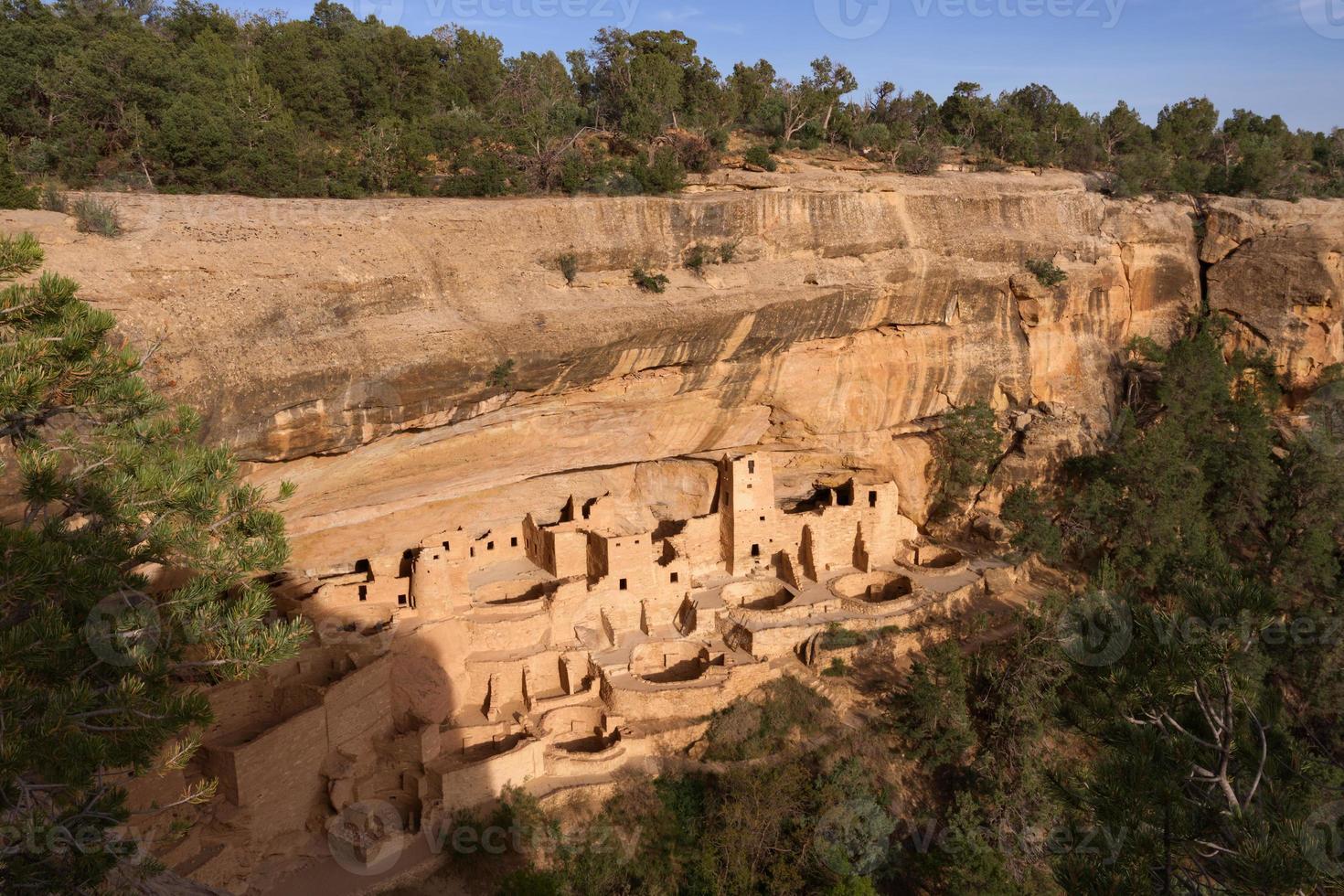 palais de la falaise, parc national de mesa verde photo