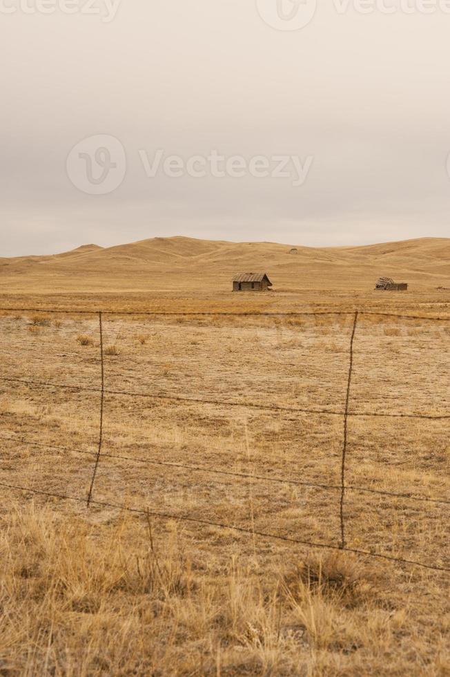 Cabine de ranch abandonnée photo