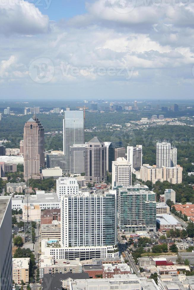 paysage urbain d'Atlanta en Géorgie photo
