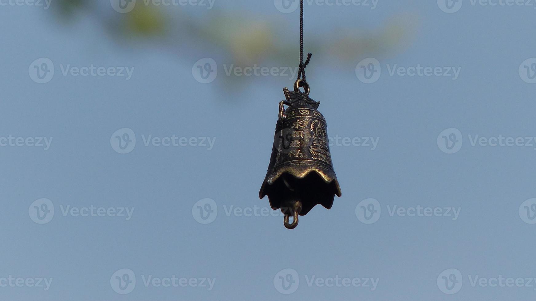 autour de notre étang - le pommier et les cloches .... photo
