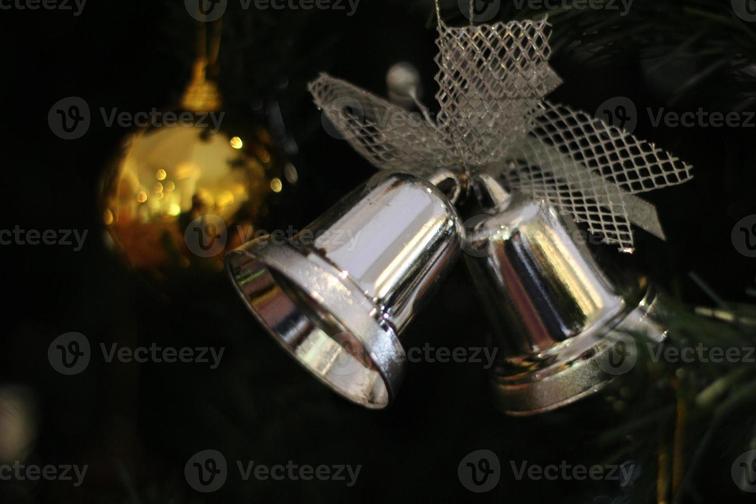 cloches et décoration de Noël photo