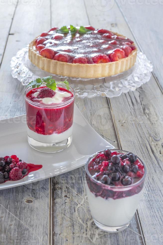 desserts d'été photo
