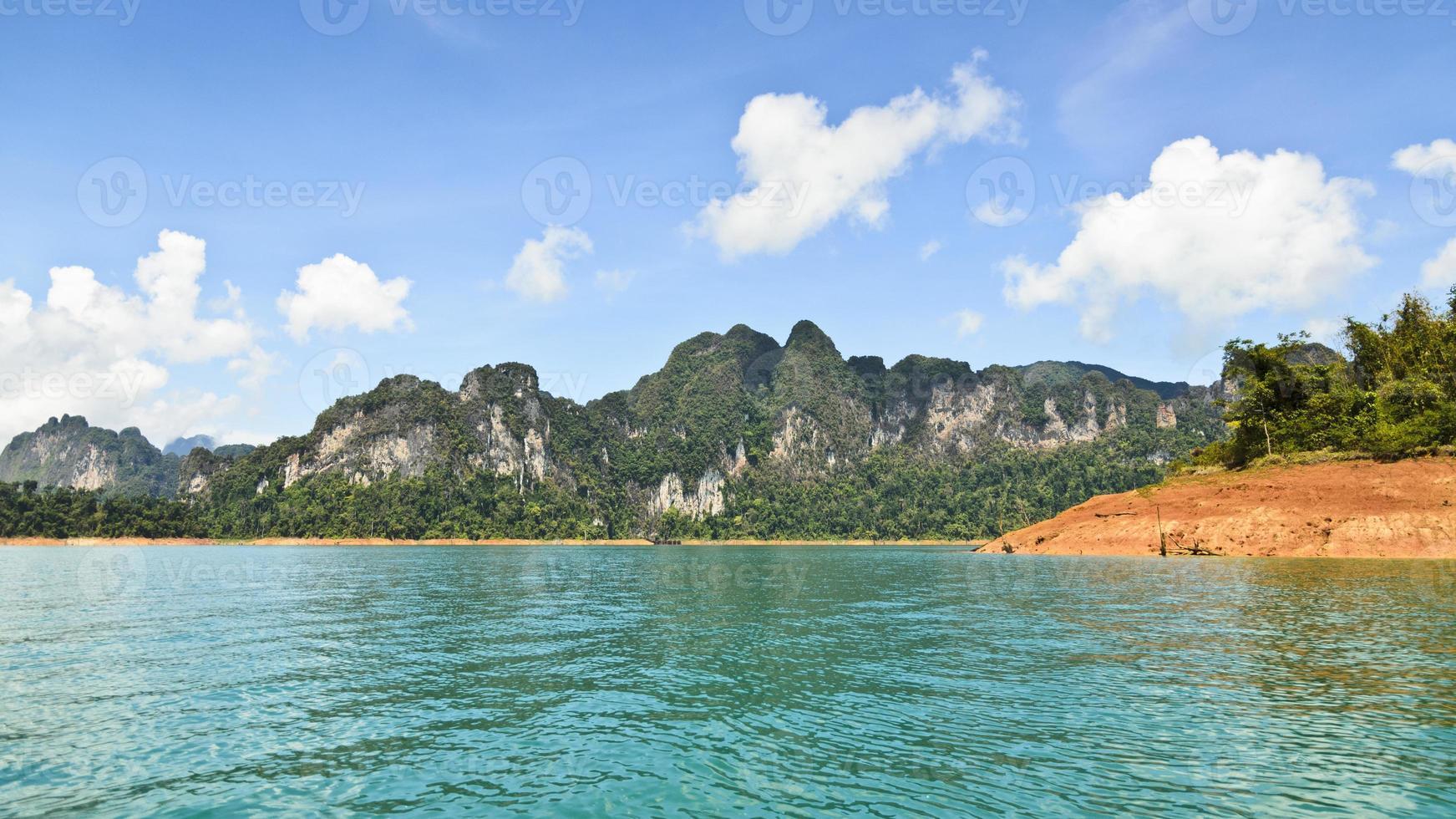 luxuriantes hautes montagnes calcaires .. photo