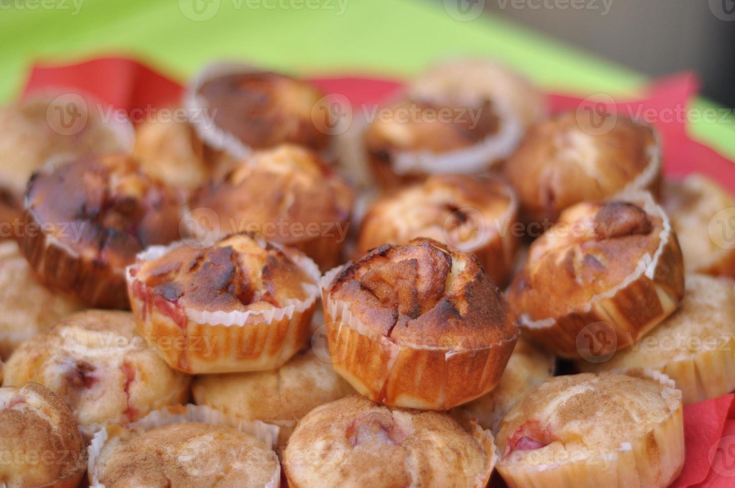 muffins à la confiture photo