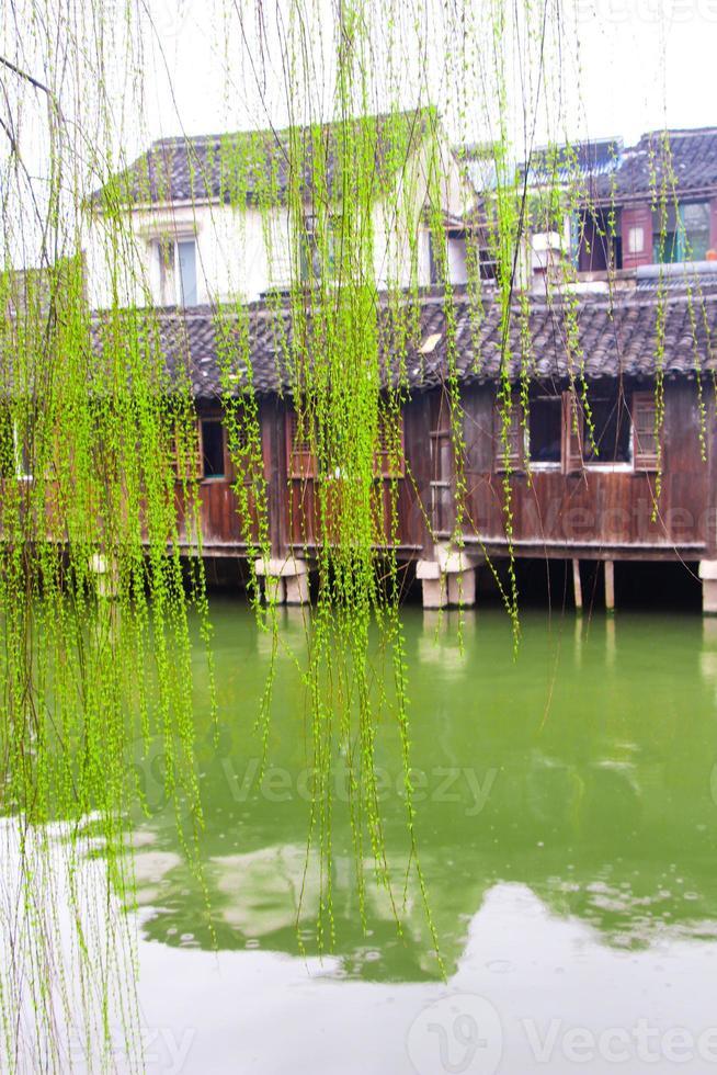 belle ville d'eau chinoise photo