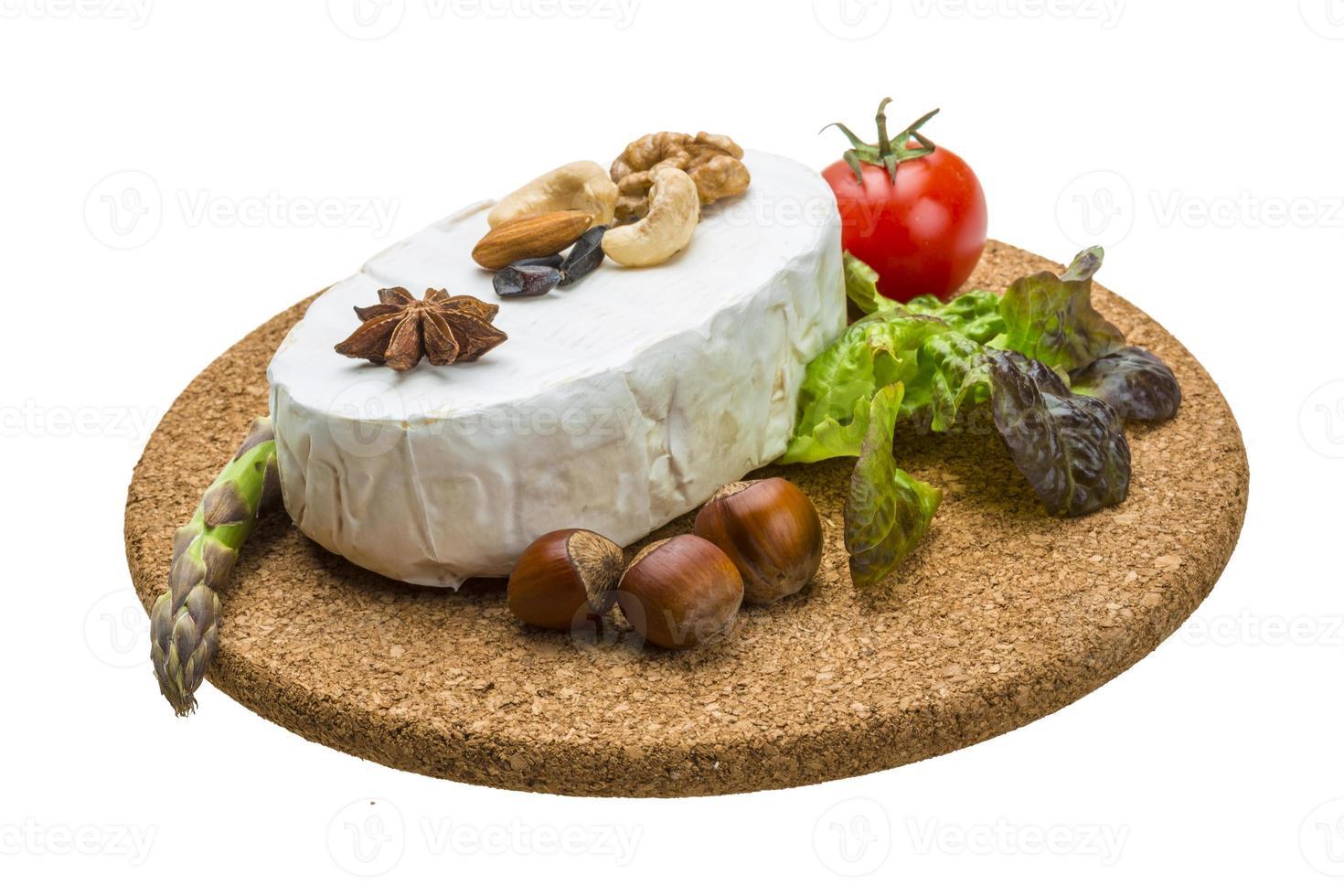 fromage brie doux frais photo