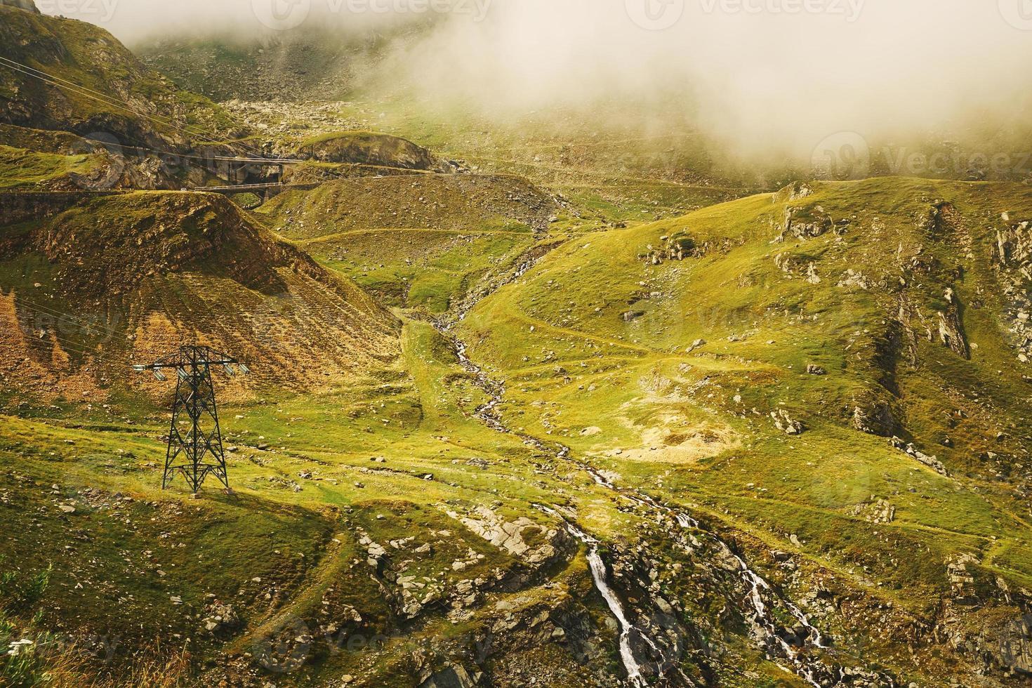 beau paysage de montagne photo