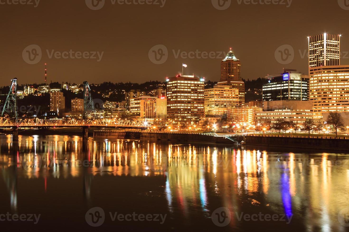 paysage de portland, oregon, usa photo