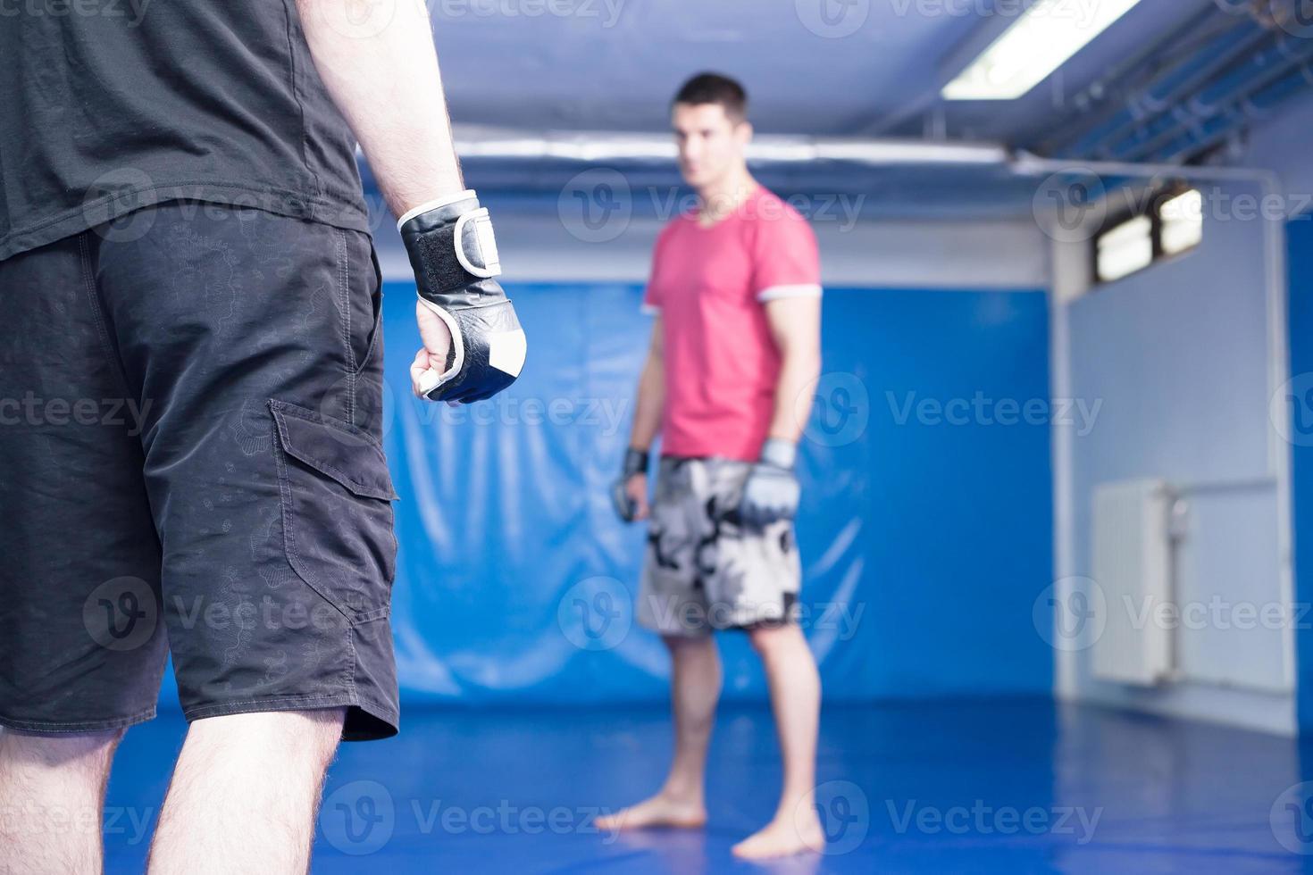 combattants d'arts martiaux photo