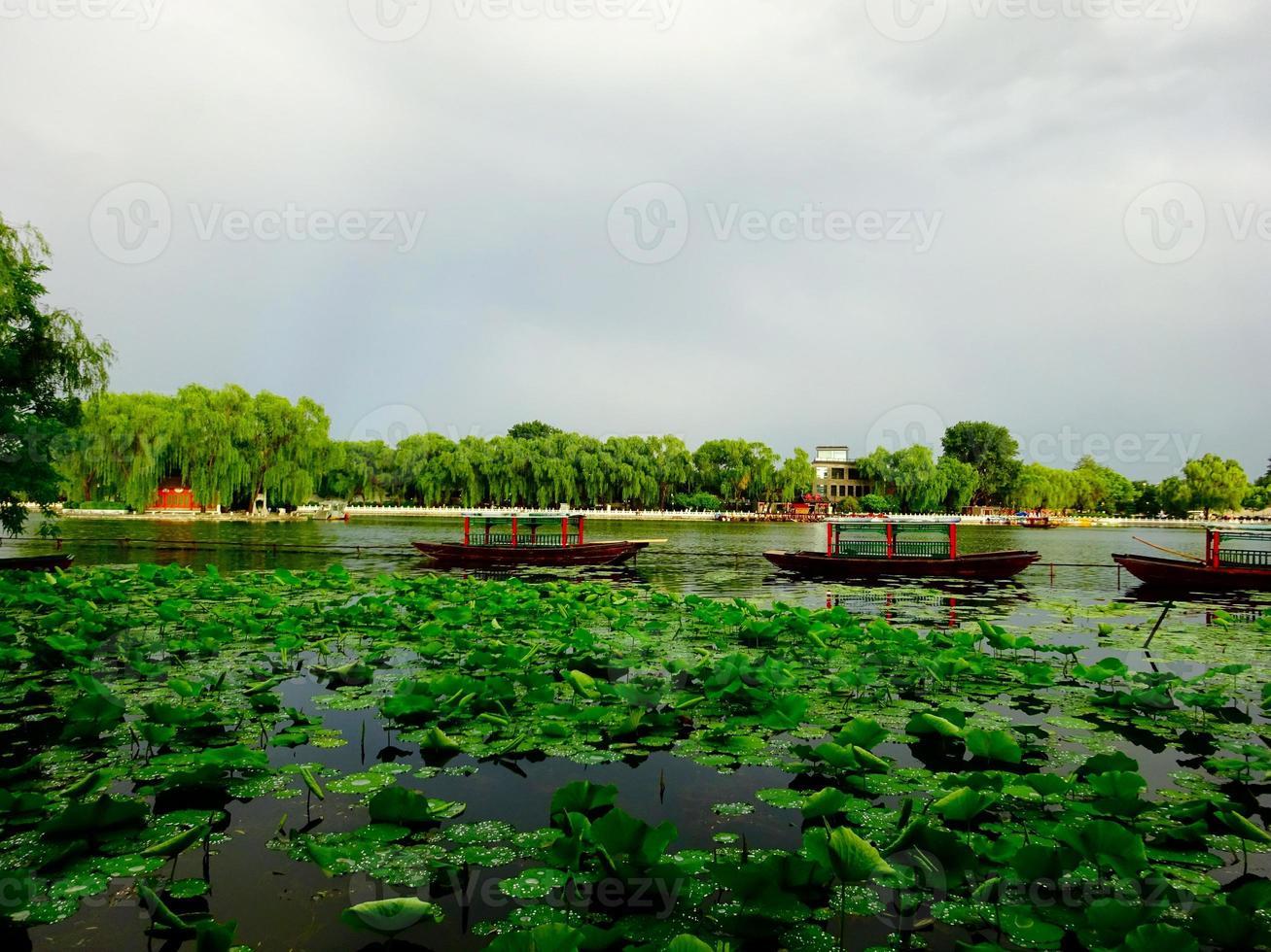 lac de beijing photo