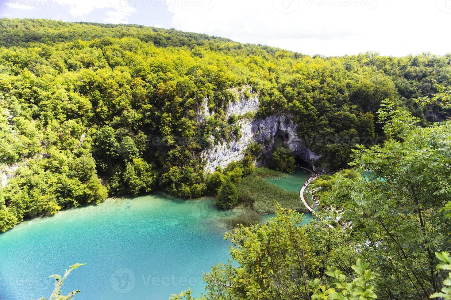lacs de plitvice photo