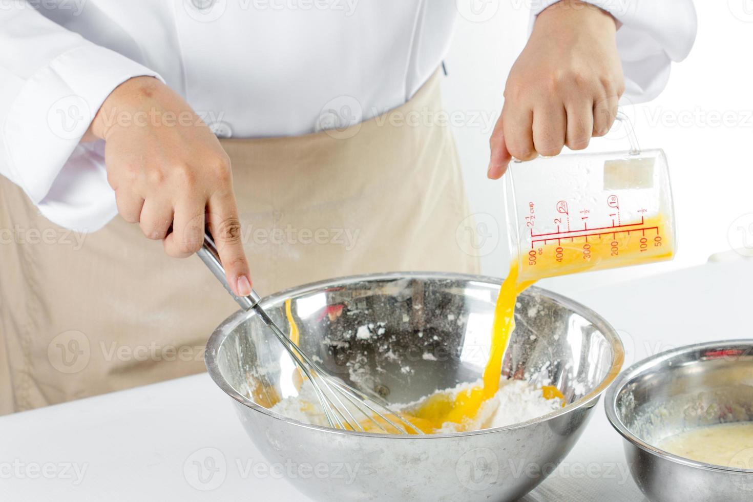 faire un gâteau aux bananes photo