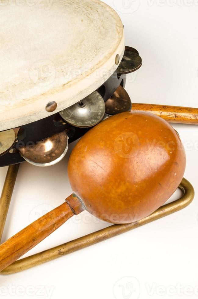 petits instruments de percussion photo