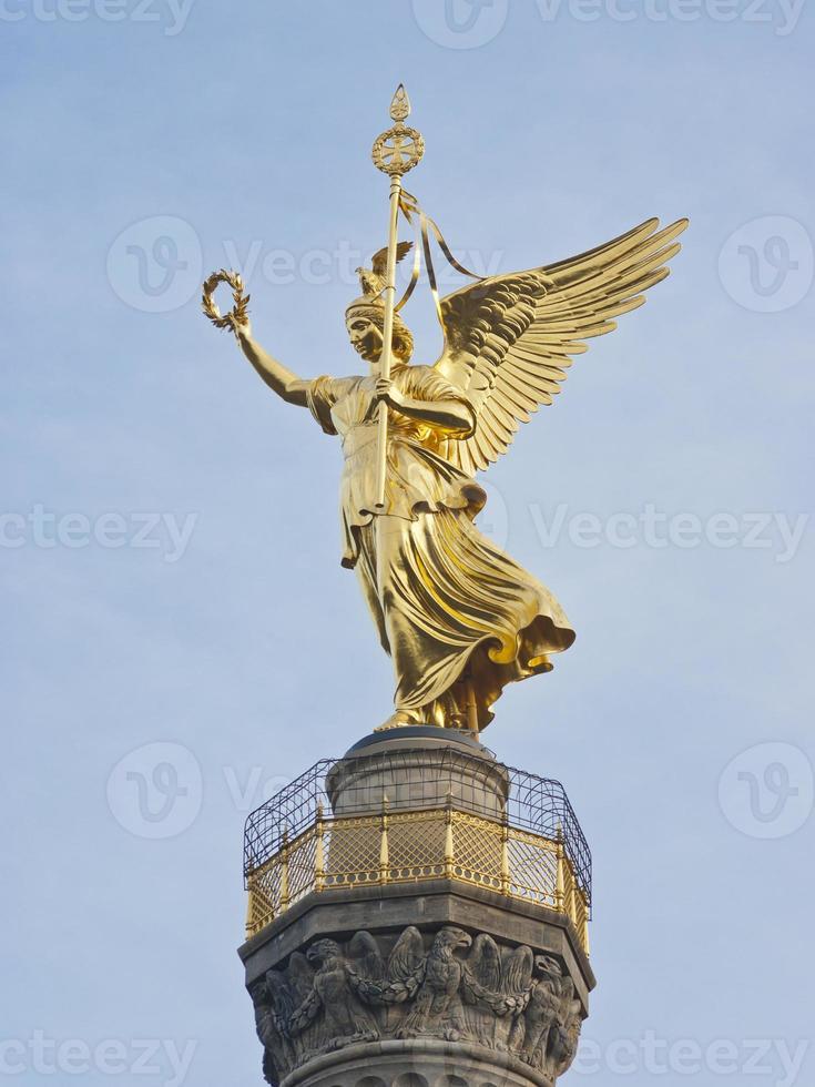 colonne de victoire de berlin photo
