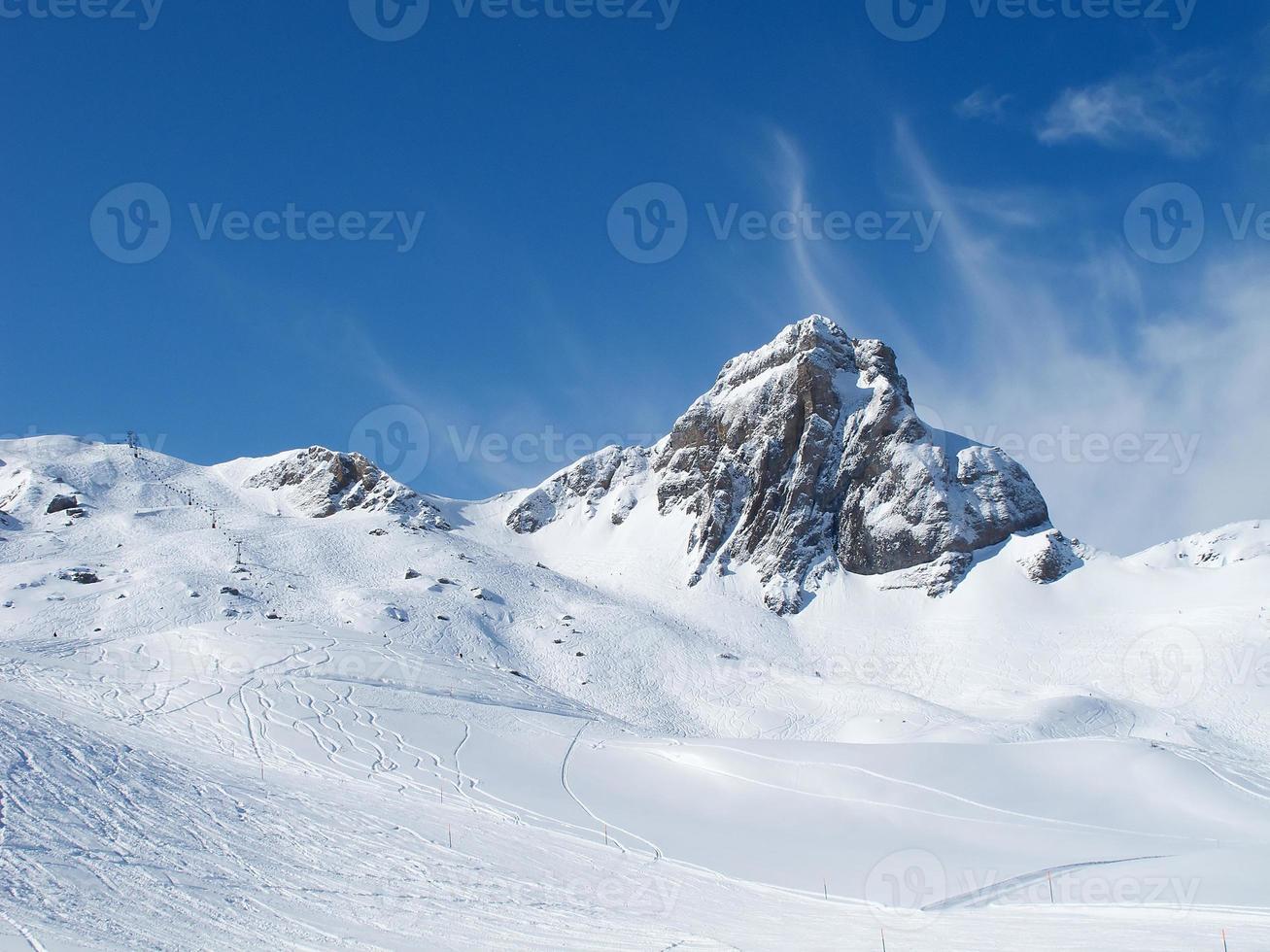 piste de ski photo