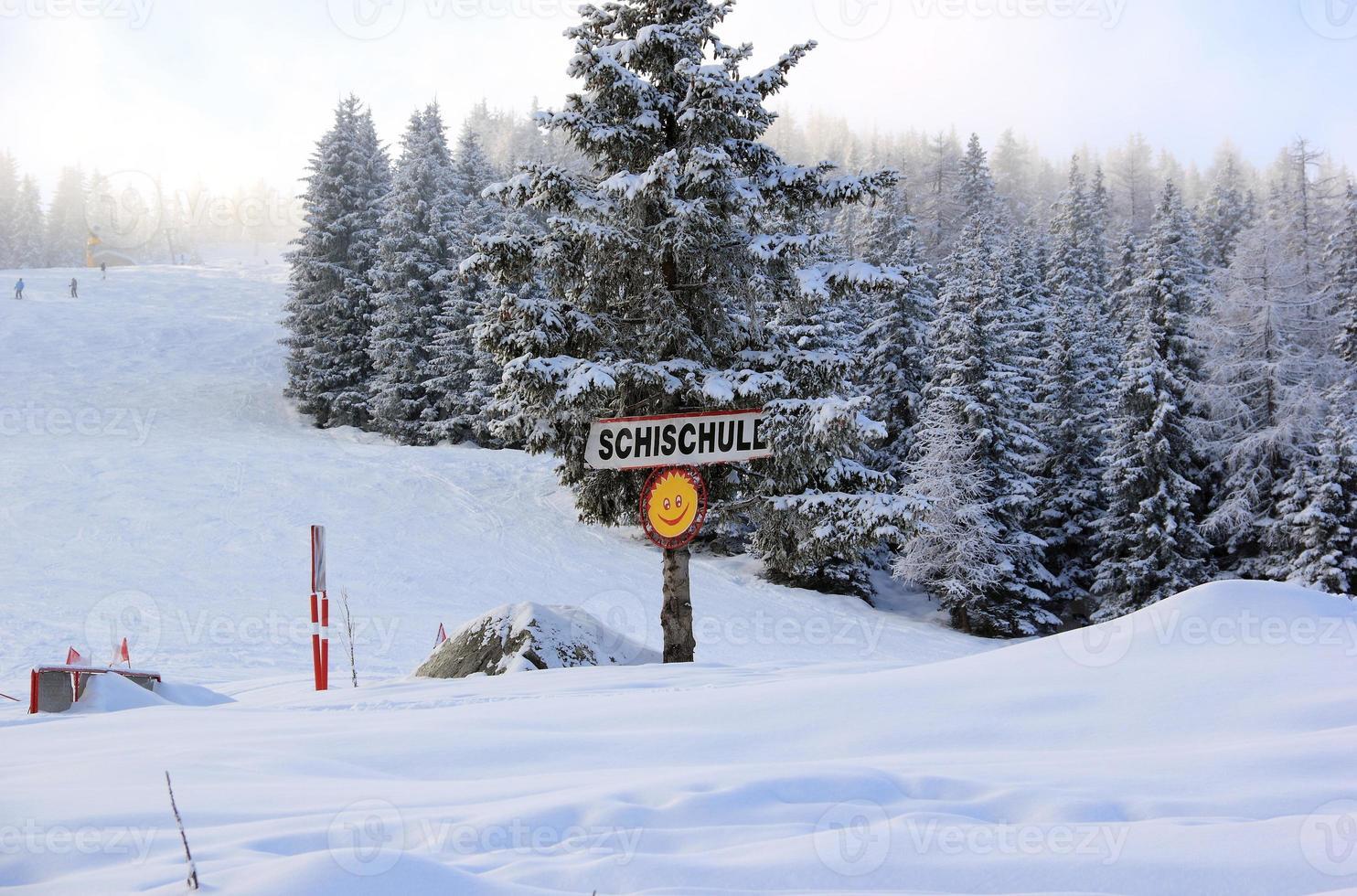 station de ski arène zillertal. Gerlos, Autriche. photo