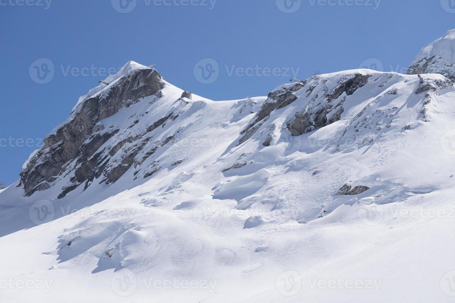montagnes de krasnaya polyana, sochi, russie photo