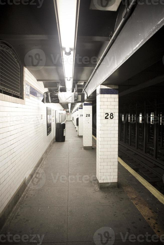 métro de la ville de new york photo