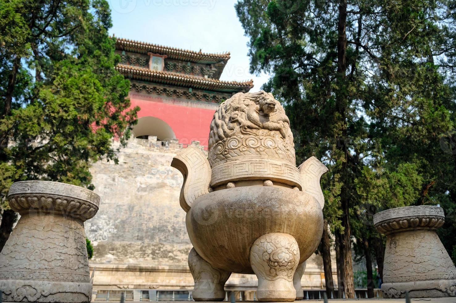 le mausolée des tombes ming photo