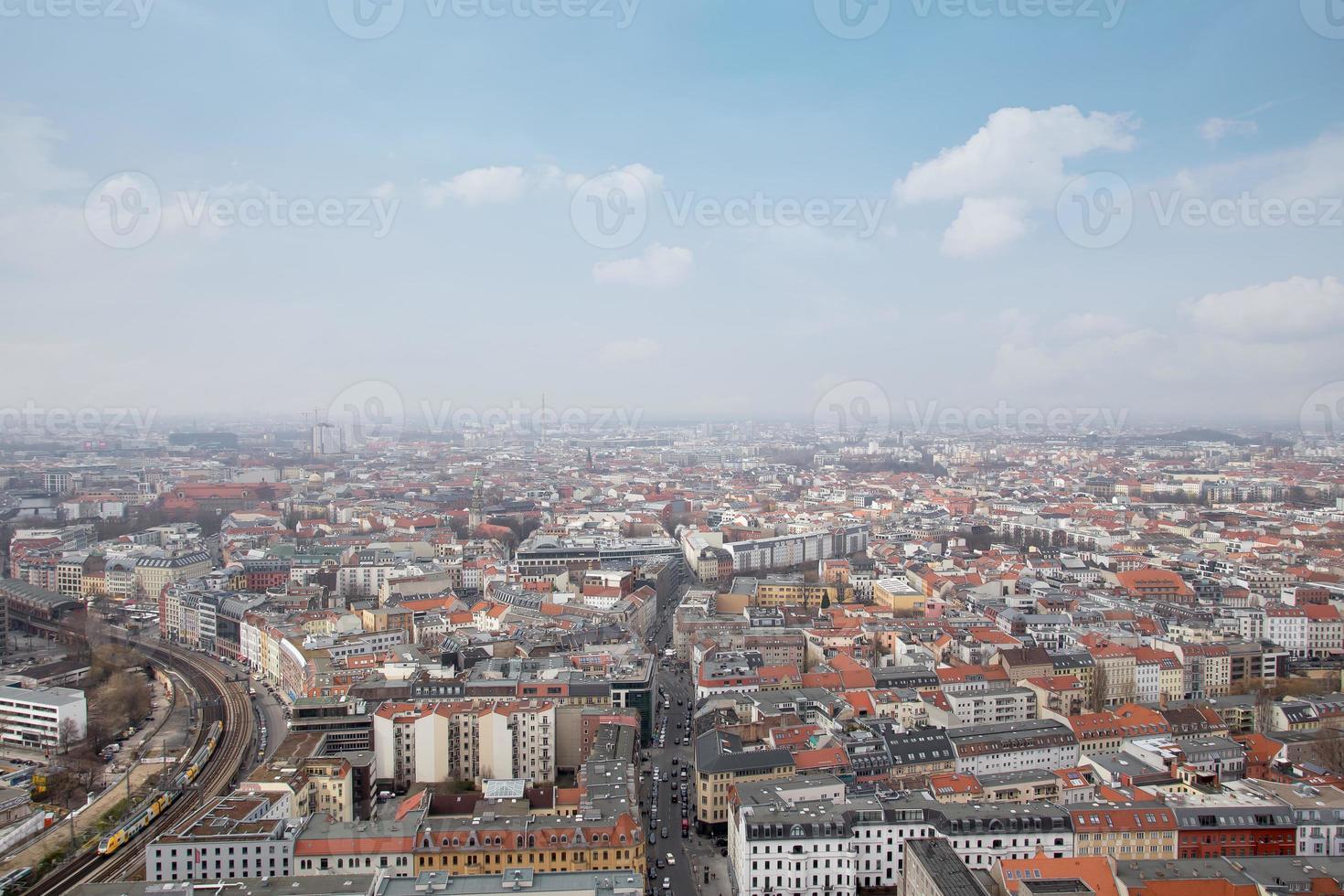 Berlin Allemagne d'en haut photo