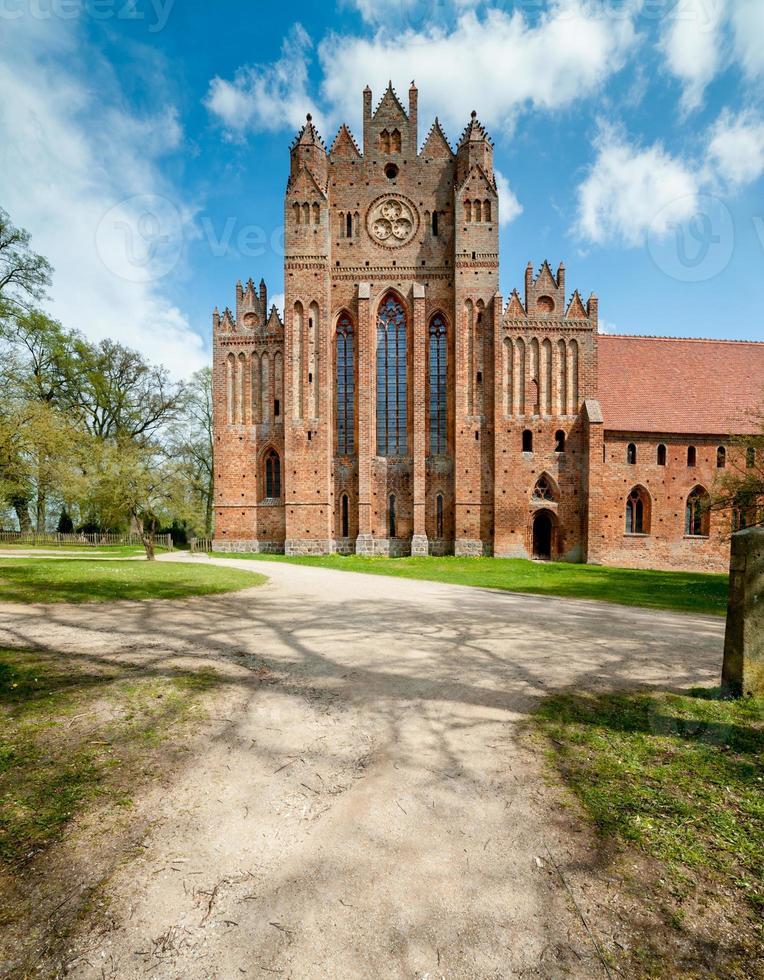 Abbaye de Chorin gothique en brique en Allemagne photo