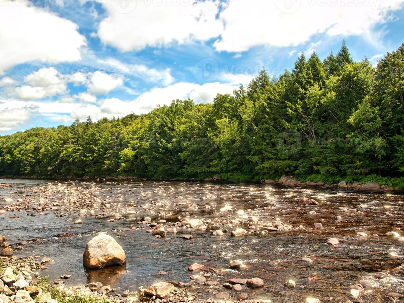 ruisseau ouest du canada photo