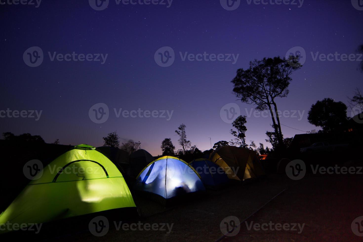 tente de camping photo