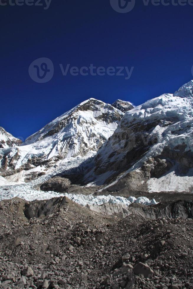 trek du camp de base de l'Everest. photo