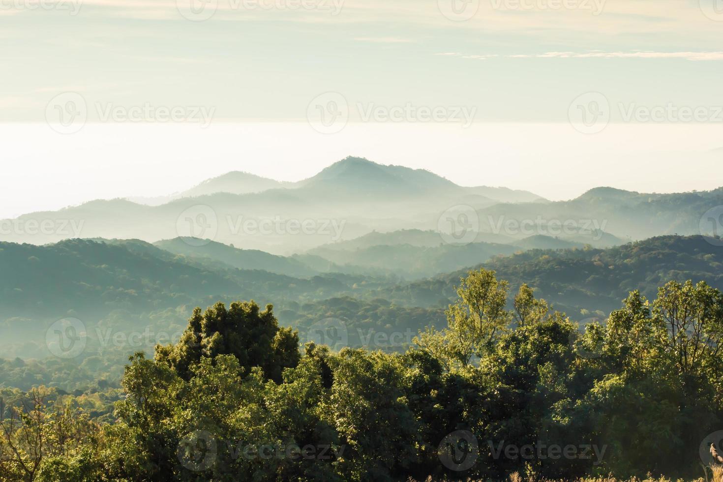 couches de montagne photo