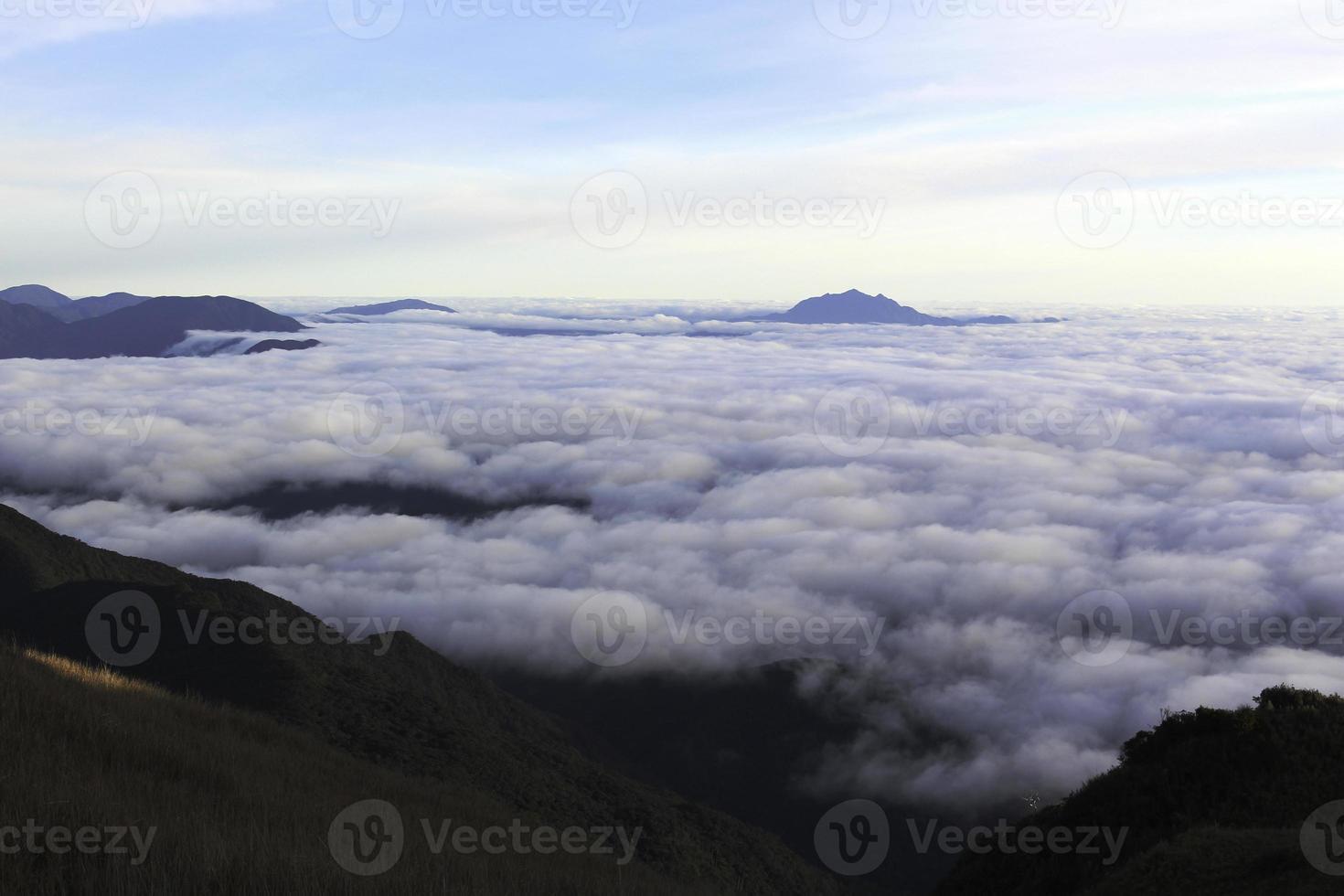 formation de nuages à benguet photo